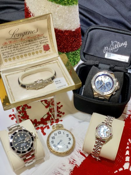 Fine watches including Rolex and Breitling